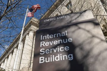Photo of IRS building