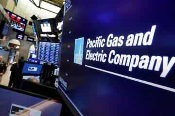 Photo of PG&E logo