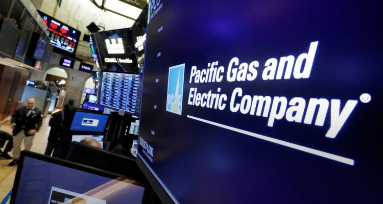 Photo of PG&E logo