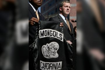 Photo of Mongols motorcyle gang