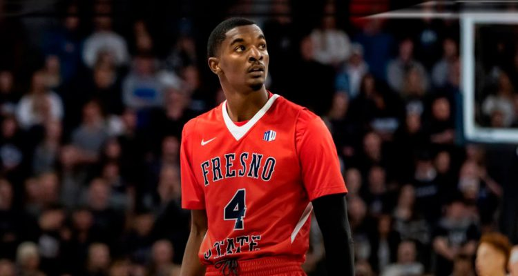Photo of Fresno State guard Braxton Huggins