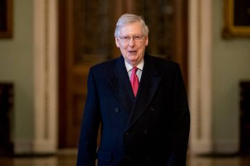 Photo of Senate Majority Leader Mitch McConnell