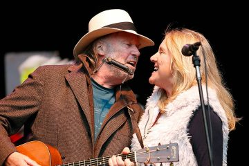 Photo of Pegi Young and Neil Young