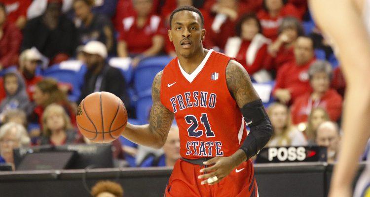 Photo of Fresno State guard DeShon Taylor