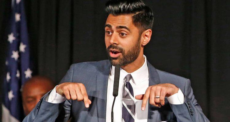 Photo of Muslim-American comedian Hasan Minhaj