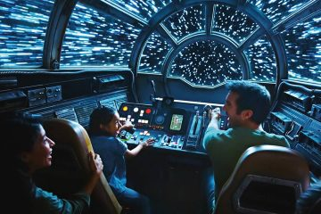 Photo of a rendering of Disney's new Star Wars attraction