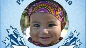 Photo of 2012 Gerber baby Mary Jane Montoya of Fresno, California