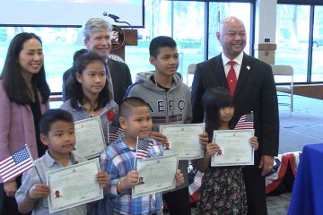 Photo from Clovis citizenship ceremony