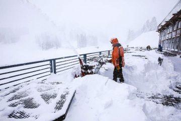 Photo of snow at Mt. Rose Ski Tahoe resort