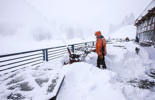 Photo of snow at Mt. Rose Ski Tahoe resort