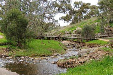 Photo of Dry Creek linear park in Adelaide, Australia