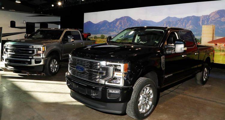 Photo of Ford trucks