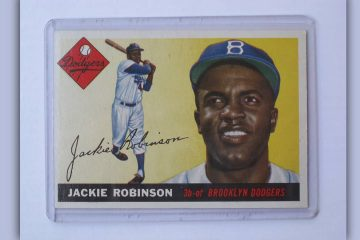 Photo of Jackie Robinson baseball card