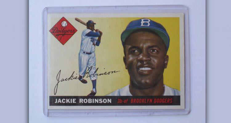 Photo of Jackie Robinson baseball card