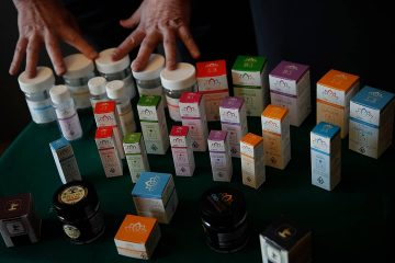 Photo of various cannabis products
