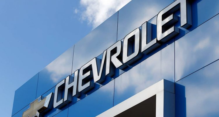 Photo of Chevrolet sign in Richmond, Virginia