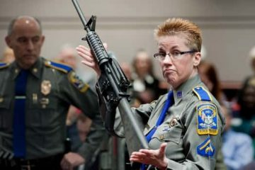 Photo of firearms training unit Detective Barbara J. Mattson
