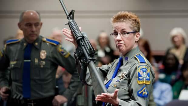 Photo of firearms training unit Detective Barbara J. Mattson