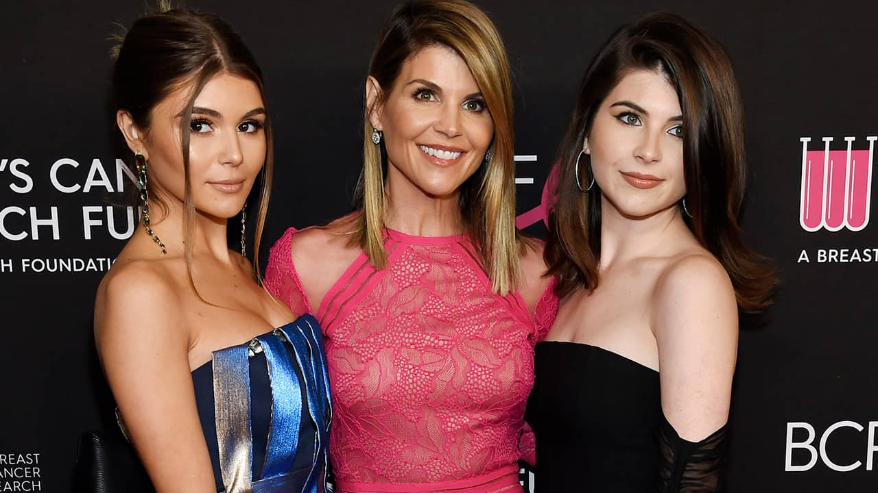 Photo of Lori Laughlin with her daughters