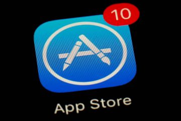 Photo of App Store app on an iPhone