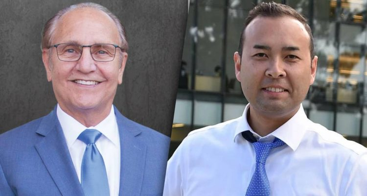 Photo combination of Mayor Lee Brand and Andrew Janz