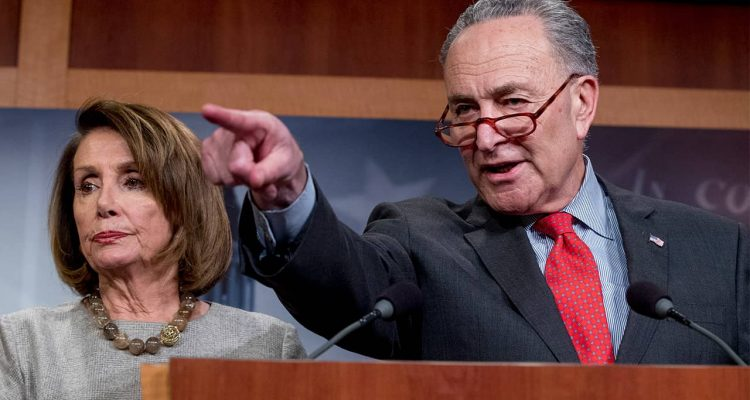 Photo of Nancy Pelosi and Chuck Schumer