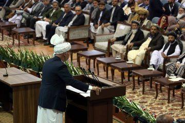 Photo of Afghan President Ashraf Ghani