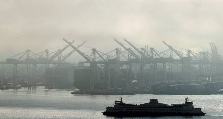 Photo of Washington state ferry