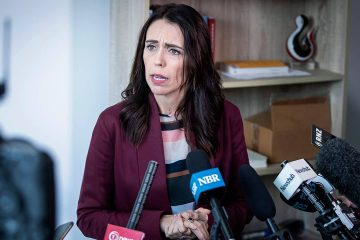 Photo of New Zealand Prime Minister Jacinda Ardern