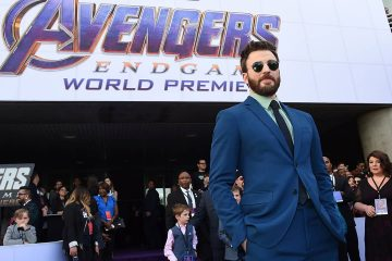 photo of Chris Evans at the Avengers: Endgame premiere
