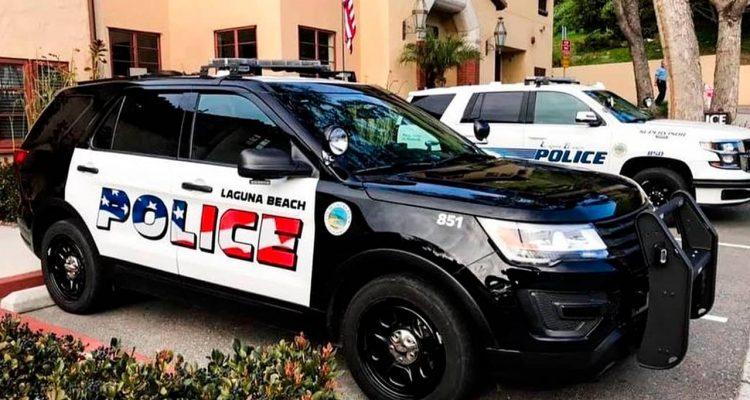 Photo of Laguna Police Department police SUVs