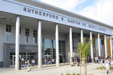 Photo of Rutherford B. Gaston Middle School in Fresno, CA