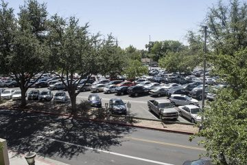 Photo of Fresno City College parking lot