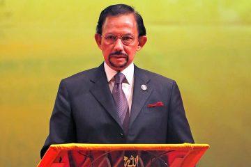 Photo of Brunei's Sultan Hassanal Bolkiah