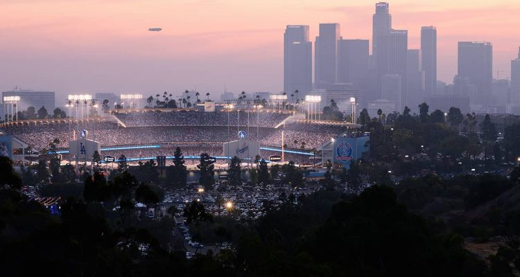 Photo of Dodger Stadium in Los Angeles, CA