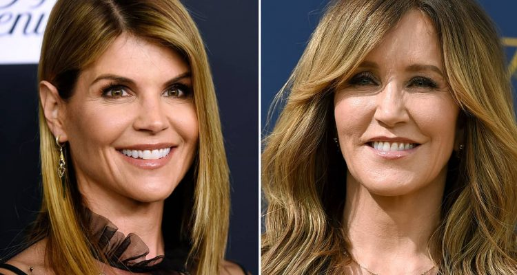 Photo of Lori Loughlin and Felicity Huffman