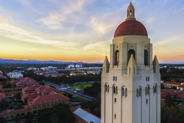 Photo of Hoover Tower at Stanford University