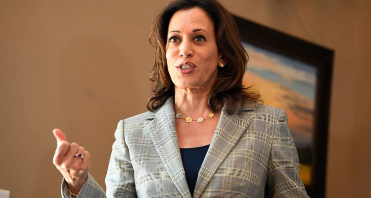 Photo of Sen. Kamala Harris