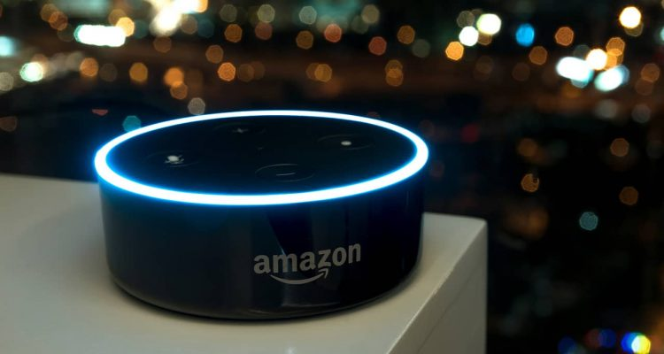 Photo of Amazon Echo Dot smart speaker