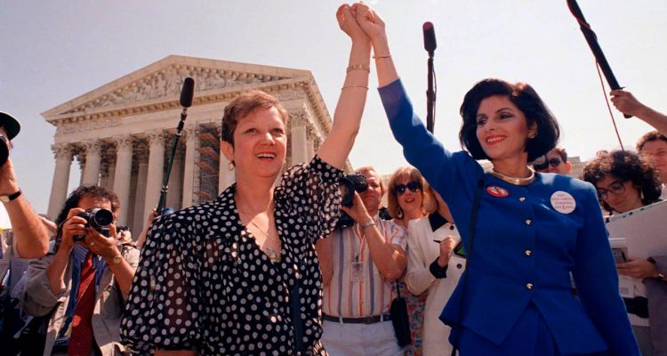 Photo of Norma McCorvey, Jane Roe in the 1973 court case