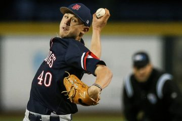 Photo of Fresno State pitcher Ryan Jensen