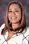 Portrait of Edison High region trustee Keshia Thomas