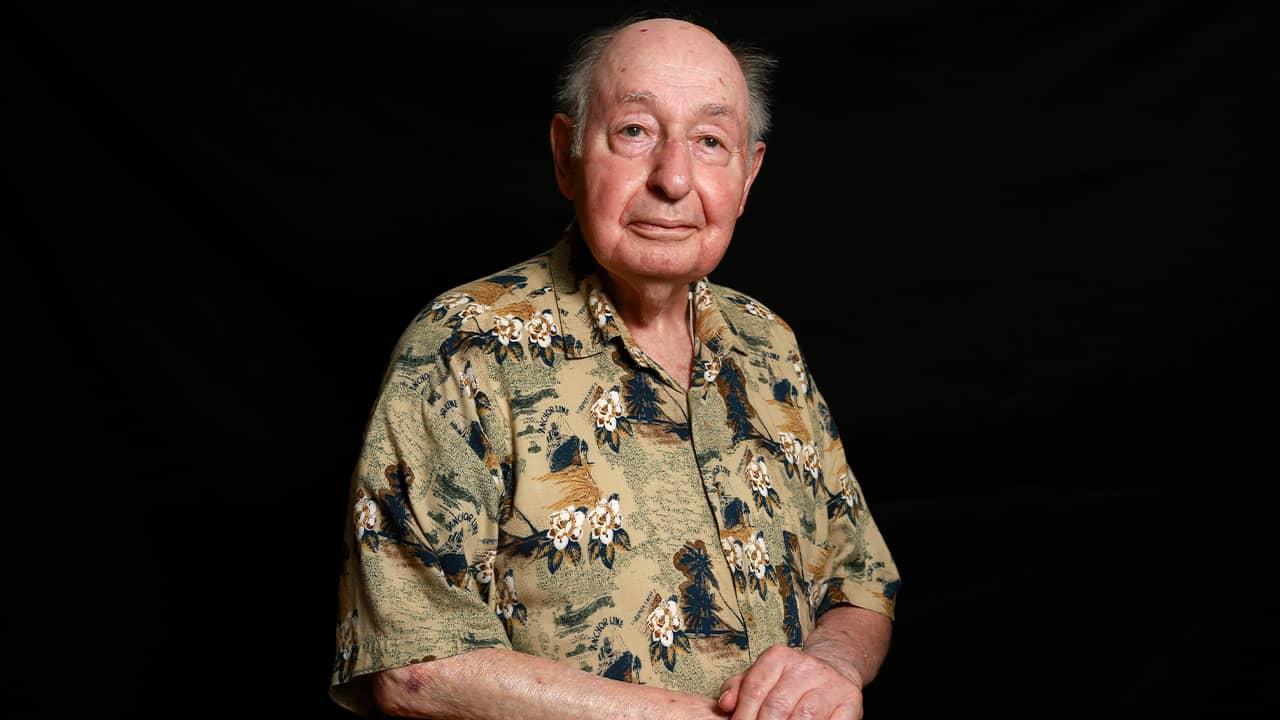 Photo of Vincent Corsini, a WWII Army veteran