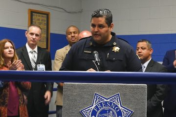 Photo of Fresno police Capt. Mark Salazar