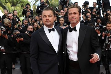 Photo of Leonardo DiCaprio and Brad Pitt
