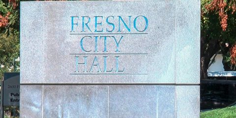 Fresno city hall monument