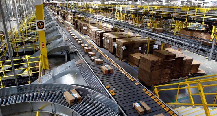 Photo of Amazon warehouse