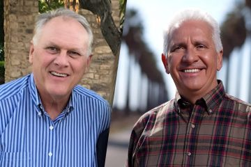 Photo combination of Kevin Cookingham and Jim Costa