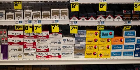 Photo of tobacco products