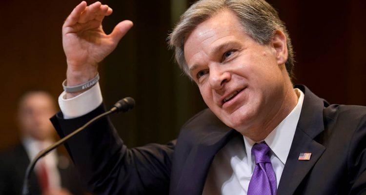 Photo of FBI Director Christopher Wray